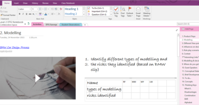 How to make toast using OneNote