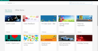 Updated portal and new languages for Microsoft Forms