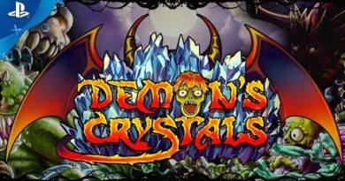 Demon's Crystals - Launch Trailer   PS4