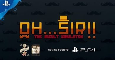 Oh...Sir! The Insult Simulator – Announcement Trailer | PS4