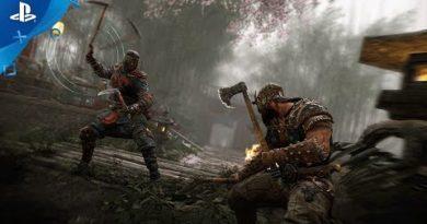 For Honor - The Shinobi Samurai Gameplay Trailer   PS4