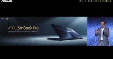 ASUS ZenBook Pro   ASUS Computex 2017