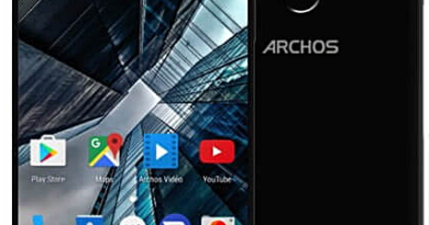 Archos Sense 55S with dual camera and almost borderless display