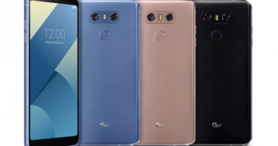 LG announces the G6 Plus, which is basically not very different from the G6 not Plus