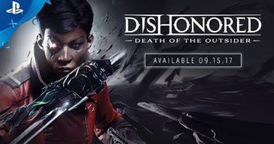 Dishonored: Death of the Outsider – PS4 Announce Trailer | E3 2017