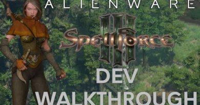 SPELL FORCE 3 Dev Walkthrough    Alienware