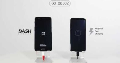 OnePlus 5 vs. Samsung Galaxy S8 - How Fast is Dash Charge?