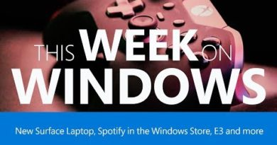 This Week on Windows: PC Gaming at E3, Spotify, Surface and 360 Degree Videos!