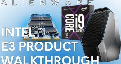 Intel In Alienware E3 Product Walkthrough