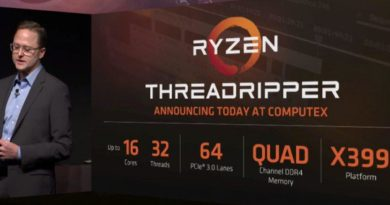 AMD Ryzen Threadripper 1920: 12 SMT Core 3.2GHz | Rumor