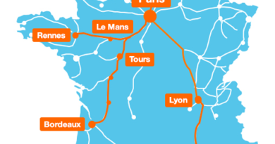Orange will cover 3 new TGV lines in 4G as of July 13
