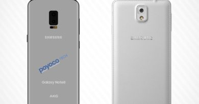 The new leak reveals features PHABLET Samsung Galaxy Note 8