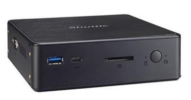 Nettop Shuttle NC03U relies on Intel Kaby Lake platform
