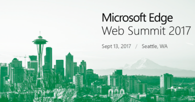 Register now for Microsoft Edge Web Summit 2017