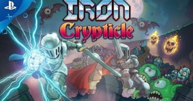 IRON CRYPTICLE - Launch Trailer   PS4