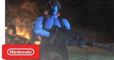 Rogue Trooper Redux Graphics Comparison - Nintendo Switch Trailer
