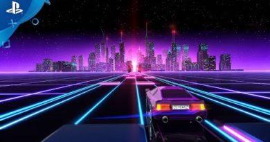 Neon Drive - Announce Trailer | PS4