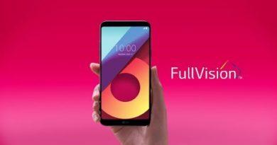 LG Q6: Full Vision 1 - Glasses