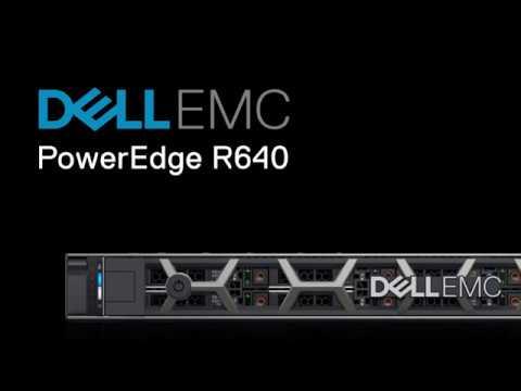 The PowerEdge R640 Rack Server
