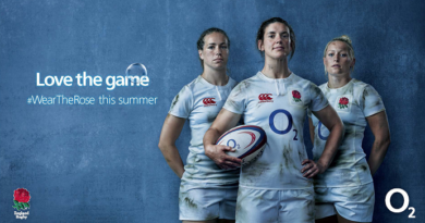 O2 backs England Rugby's Red Roses with new campaign