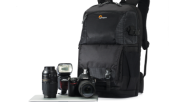 EXPIRED: Win one of four Lowepro FastPack BP 250 AW II backpacks