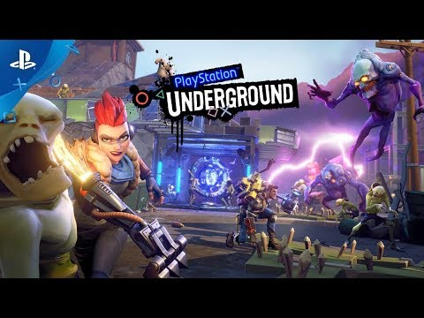 Fortnite - PS4 Gameplay | PlayStation Underground