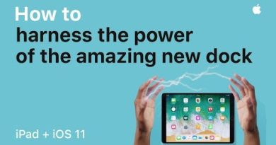 iPad — How to harness the power of the new Dock with iOS 11 — Apple
