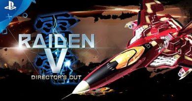 Raiden V: Director's Cut – Launch Trailer | PS4