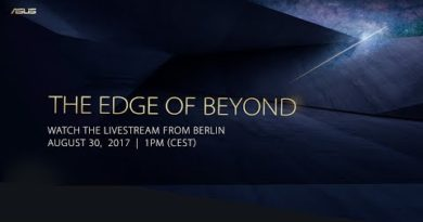 The Edge of Beyond Press Event – IFA 2017 | ASUS
