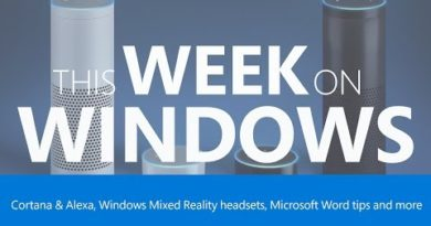 This Week on Windows: Windows Mixed Reality Headsets, Cortana and More