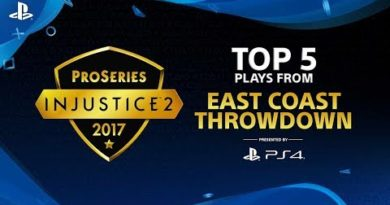Injustice 2 – Top 5 Plays from East Coast Throwdown | PS4