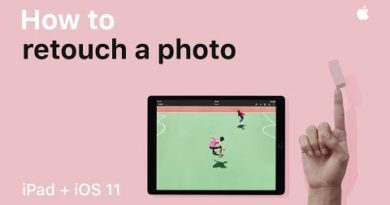 iPad — How to retouch a photo — Apple