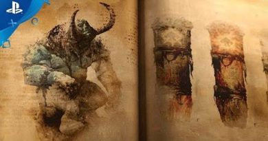 God of War -- The Lost Pages of Norse Myth: A Fire Troll Approaches   PS4