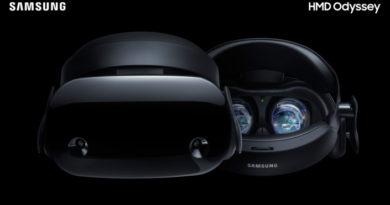 Samsung HMD Odyssey Introduces the Ultimate Windows Mixed Reality Experience