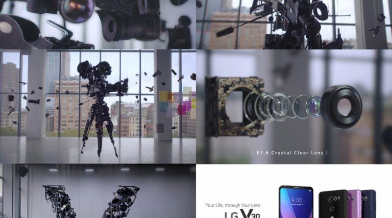 LG V30 AS KINETIC ART: REAL OR CGI?
