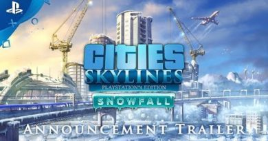 Cities: Skylines - Snowfall Announcement | PS4
