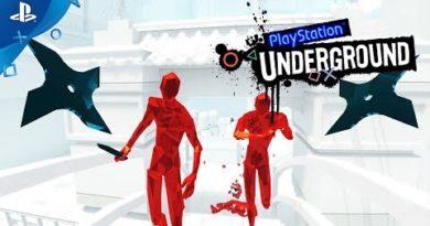 Superhot VR Gameplay - PlayStation Underground   PS4