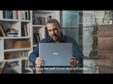 Acer Education   Unboxing the Swift 3