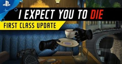 I Expect You To Die - First Class Update Trailer | PS VR