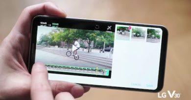 LG V30 x hitRECord: Quick Video Editor