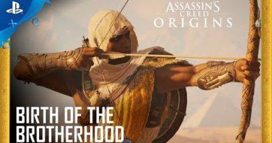 Assassin's Creed Origins - Birth of the Brotherhood Trailer | PS4