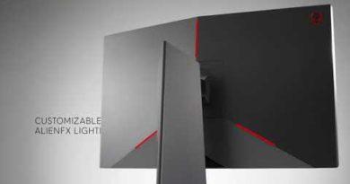 Up Close: Alienware 25 Gaming Monitor: AW2518H (NVIDIA)