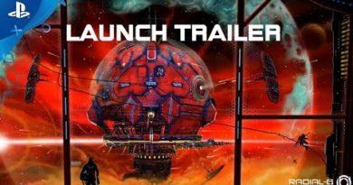 Radial-G - Full Launch Trailer   PS4, PS VR