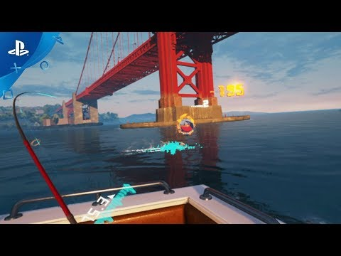 Fishing master gameplay trailer ps vr for Ps4 fishing games 2017