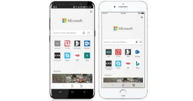 Microsoft Edge now available for iOS and Android