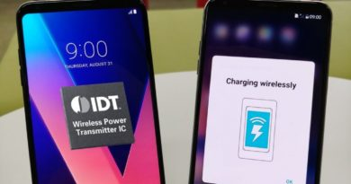 LG AND IDT PARTNER ON WORLD'S FIRST Qi EXTENDED POWER PROFILE SMARTPHONE