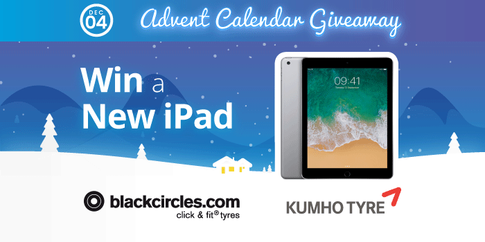 ADVENT COMPETITION DAY 4: Win an iPad