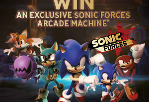 COMPETITION: Win an Exclusive Sonic Forces Arcade Machine