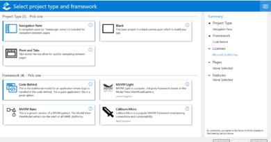 Windows Template Studio 1.6 released!