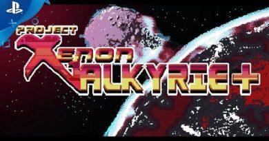 Xenon Valkyrie - Launch Trailer | PS Vita